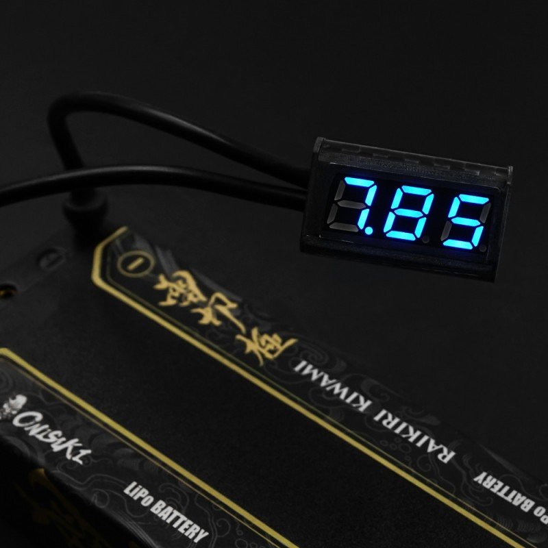Carbon Cased 1-5s Battery Voltage Checker