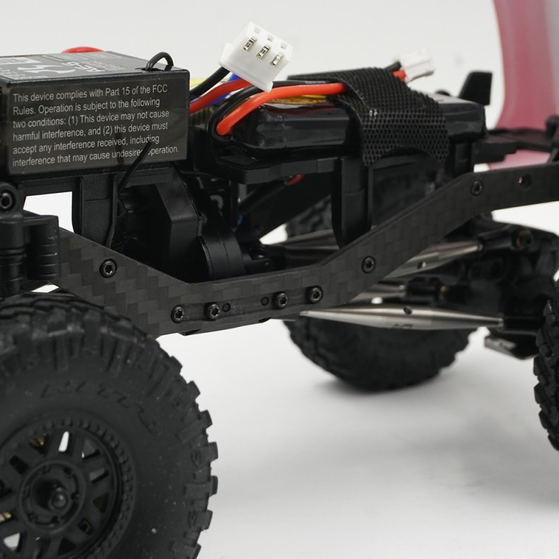 Graphite Chassis Frame Rails For Axial SCX24