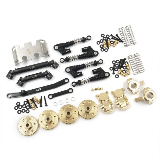 Metal Upgrade Parts Set For Axial SCX24 C10 Jeep 133.7mm Wheelbase