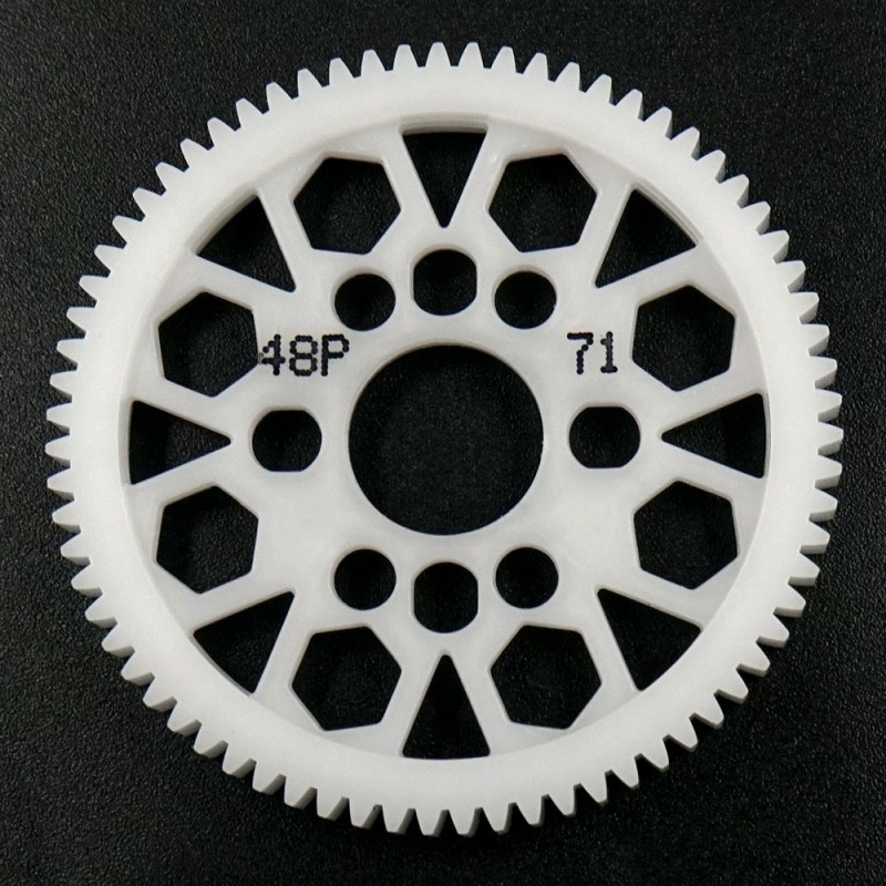Competition Delrin Spur Gear 48P 71T For 1/10 On Road Touring Drift