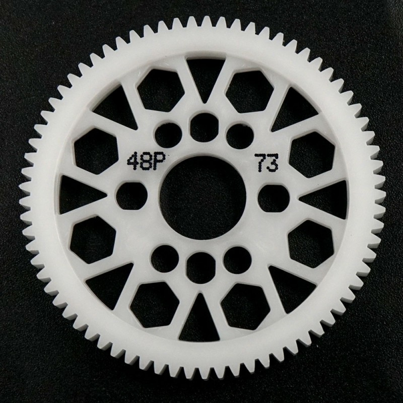 Competition Delrin Spur Gear 48P 73T For 1/10 On Road Touring Drift