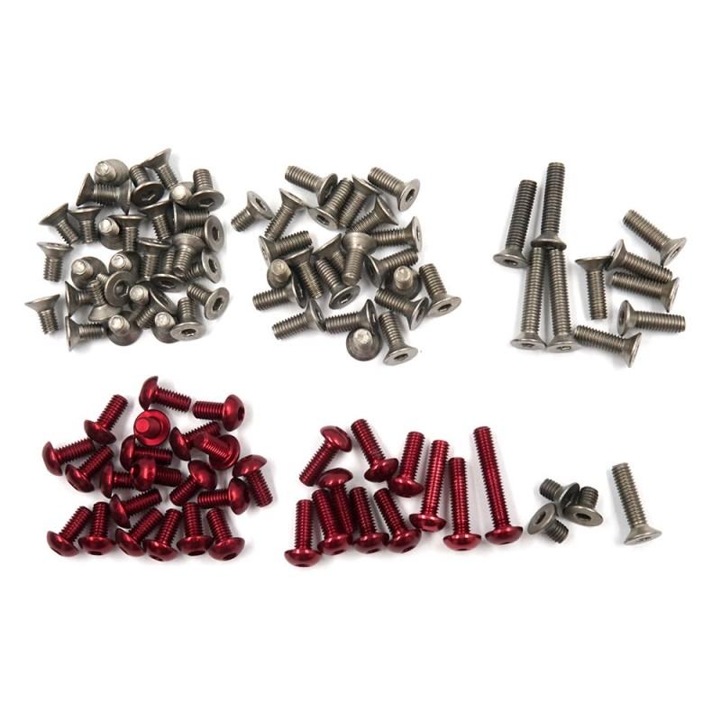 Titanium and 7075 Aluminum Screw Set For Xpress XQ2S