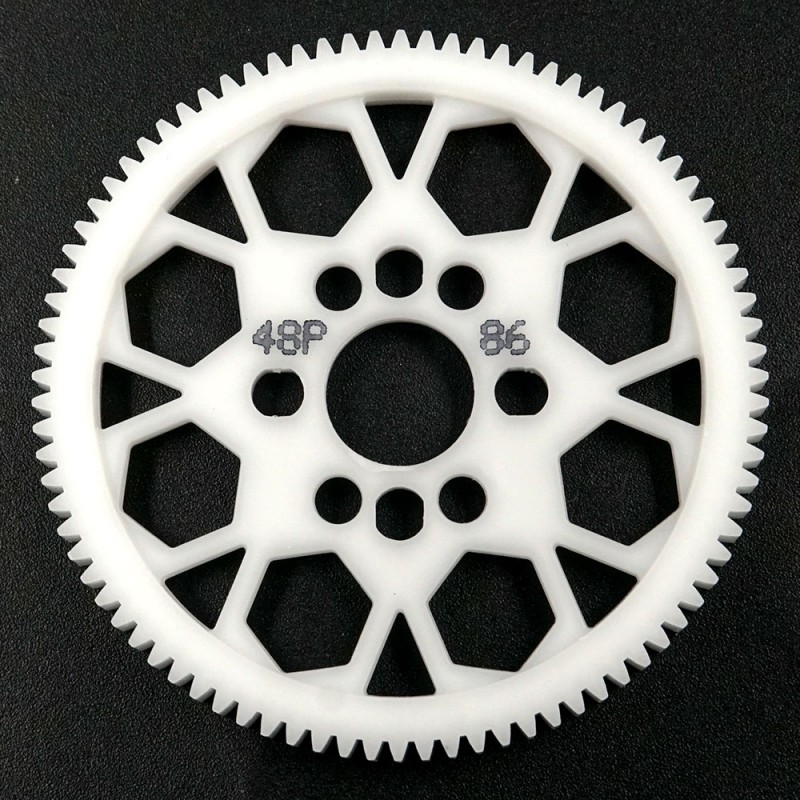 Competition Delrin Spur Gear 48P 86T For 1/10 On Road Touring Drift