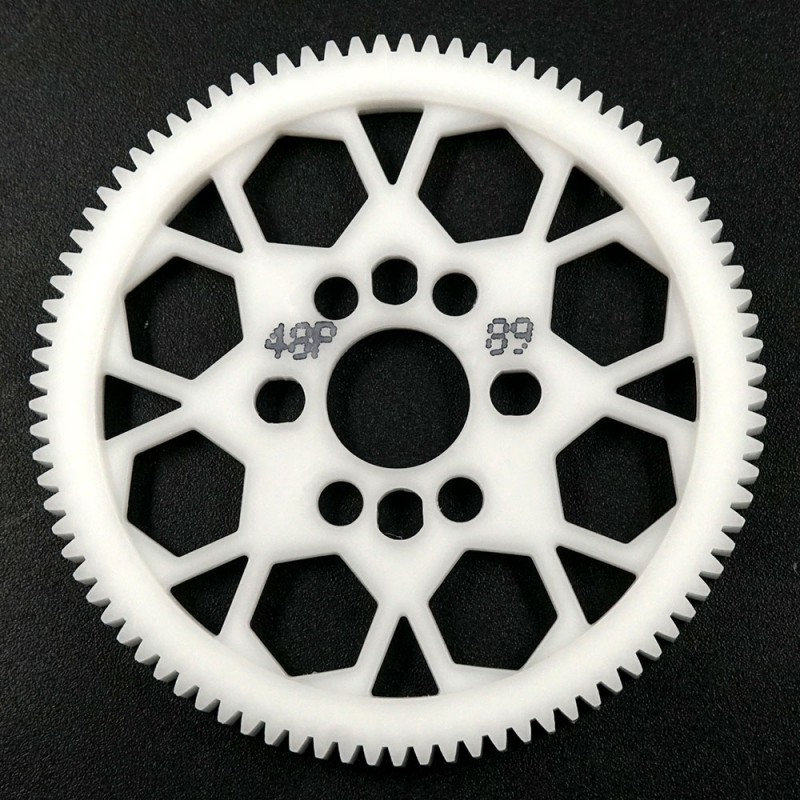 Competition Delrin Spur Gear 48P 89T For 1/10 On Road Touring Drift
