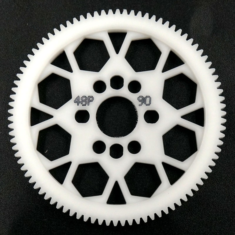 Competition Delrin Spur Gear 48P 90T For 1/10 On Road Touring Drift