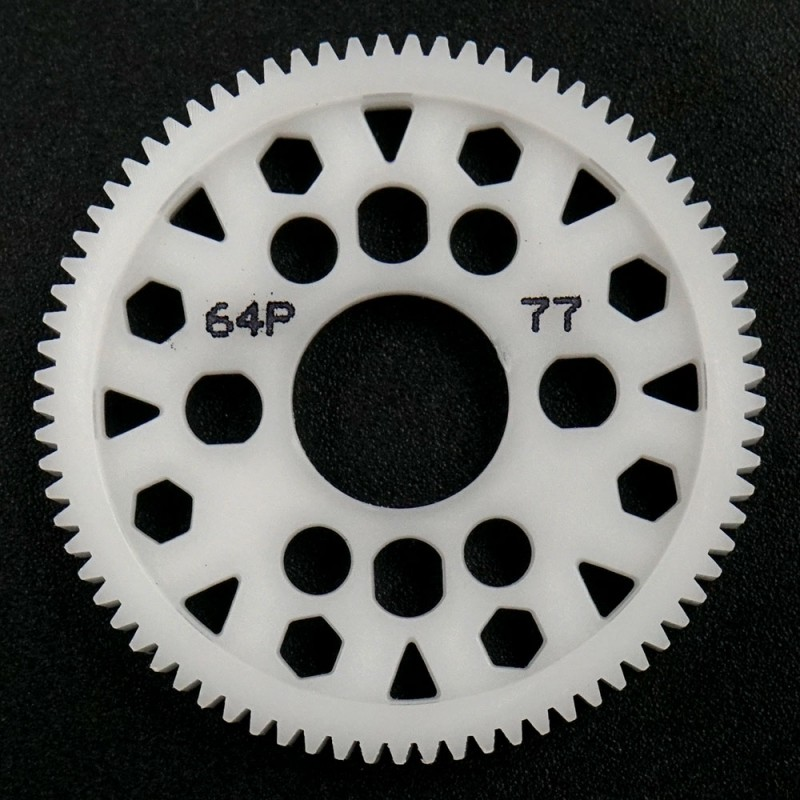 Competition Delrin Spur Gear 64P 77T For 1/10 On Road Touring Drift