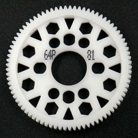 Competition Delrin Spur Gear 64P 81T For 1/10 On Road Touring Drift