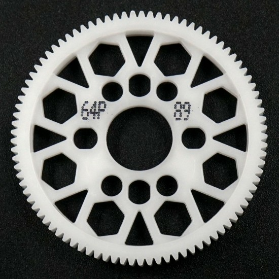Competition Delrin Spur Gear 64P 89T For 1/10 On Road Touring Drift