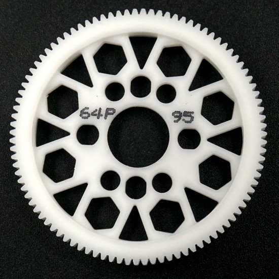 Competition Delrin Spur Gear 64P 95T For 1/10 On Road Touring Drift