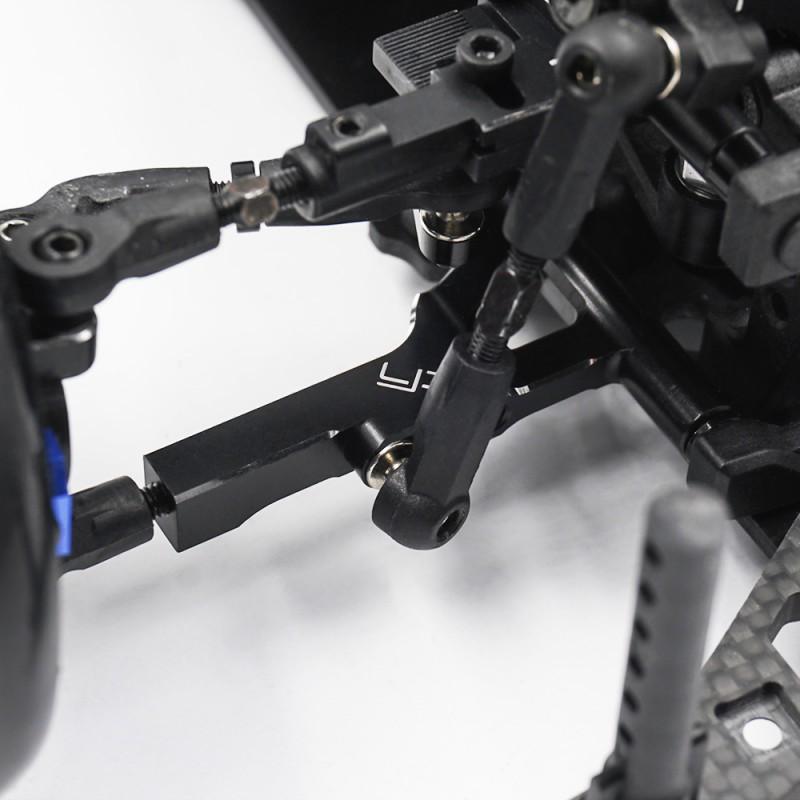 Aluminum 7075 Caster Adjustable Top Suspension Arm For 3Racing Sakura D5