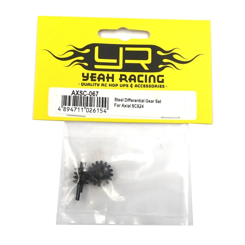 Steel Differential Gear Set For Axial SCX24