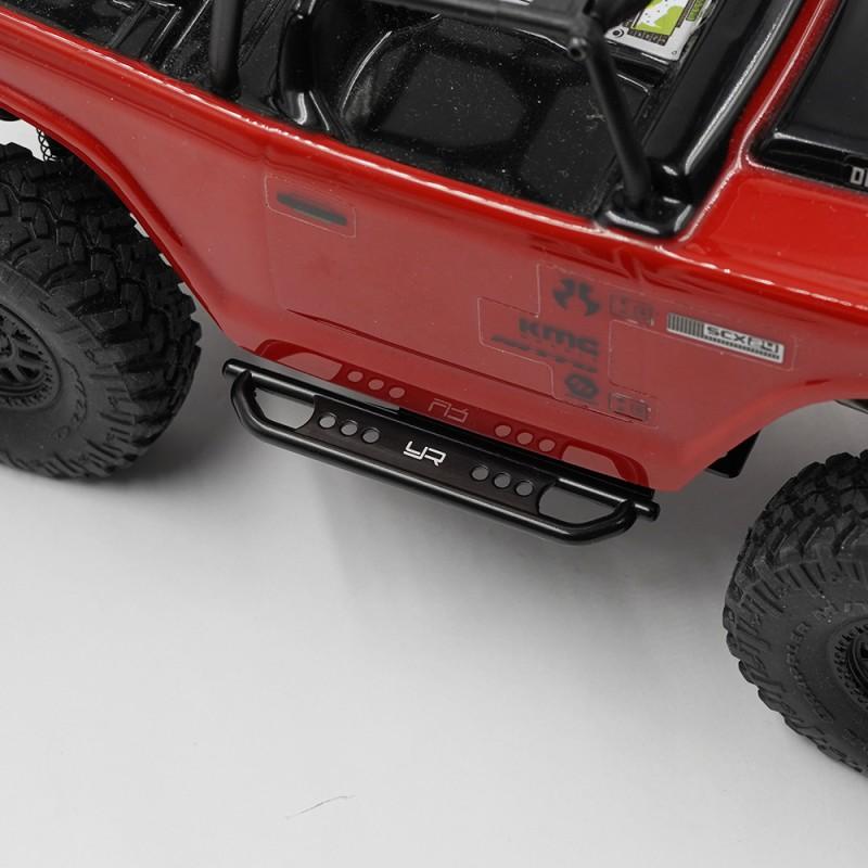 Metal Rock Sliders For Axial SCX24 Jeep Deadbolt