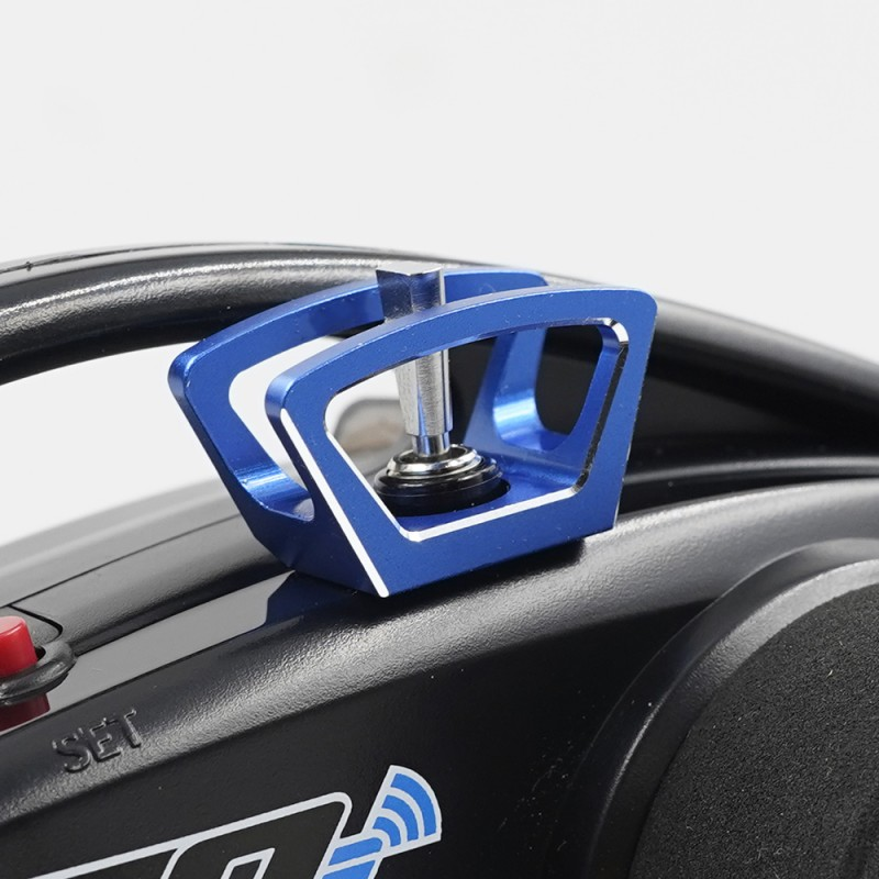 Aluminum Diff Lock Switch Protector Blue For Traxxas TQi Radio