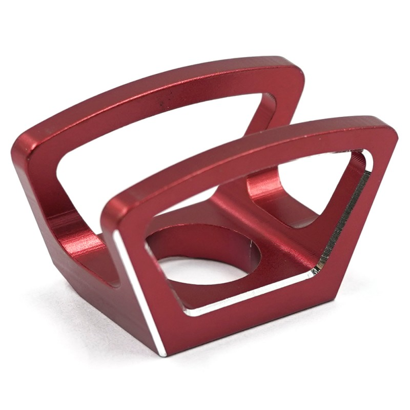 Aluminum Diff Lock Switch Protector Red For Traxxas TQi Radio