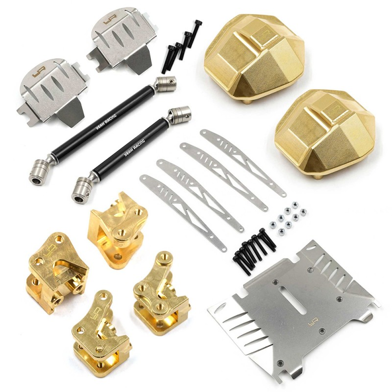 Full Metal Chassis Upgrade Kit For Axial RBX10 Ryft