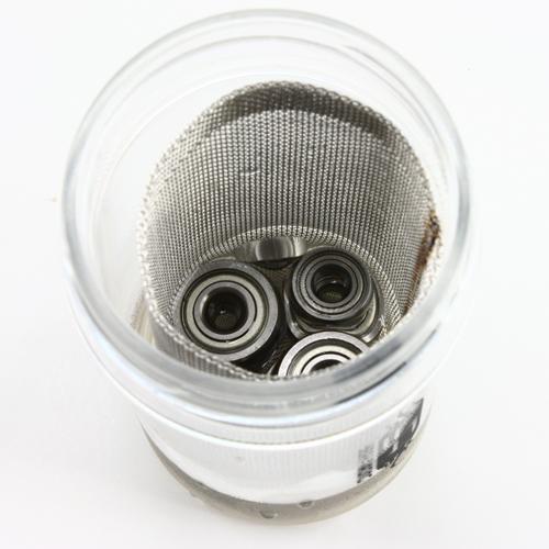 Step 2b: Soak the ball bearing