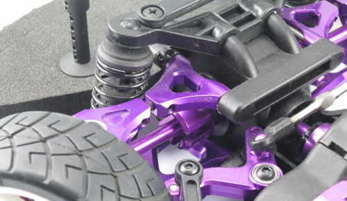 Yeah Racing Aluminum F/R Gear Box Joint (PP) for HPI E10