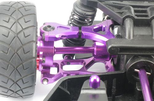 Yeah Racing Aluminum Dog Bone (PP) for HPI E10