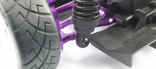 Yeah Racing Aluminum Rear Lower Arm (PP) for HPI E10