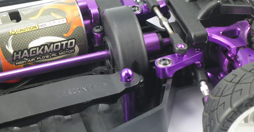 Yeah Racing Aluminum Battery Post (PP) for HPI E10