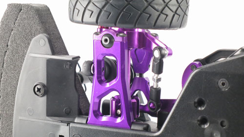 Yeah Racing Aluminum Front Lower Arm (PP) for HPI E10