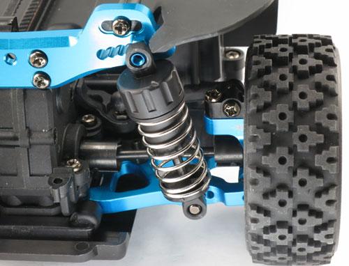 Yeah Racing Aluminum Rear Lower Arm for XV-01 #XV01-002BU