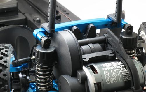 Yeah Racing Aluminum Front Shock / Damper Tower For Tamiya XV-01 #XV01-008BU