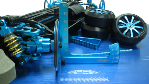Yeah Racing Aluminum Set Up Wheels for 1:10 RC Touring Car #YT-0069