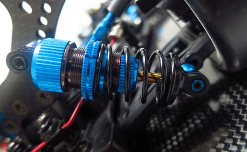 Yeah Racing Shock-Gear Damper Set for 1:10 RC Touring Car #DSG-0055