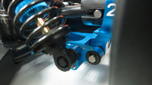 Yeah Racing Aluminum Rear Lower Arm Set For Tamiya TT02 #TT02-002