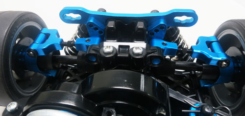 Yeah Racing Aluminum Adjustable Rear Upper Arm Set For Tamiya TT02 #TT02-004