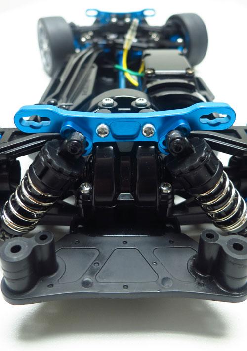 Yeah Racing Aluminum Front / Rear Damper Stay For Tamiya TT02 #TT02-008