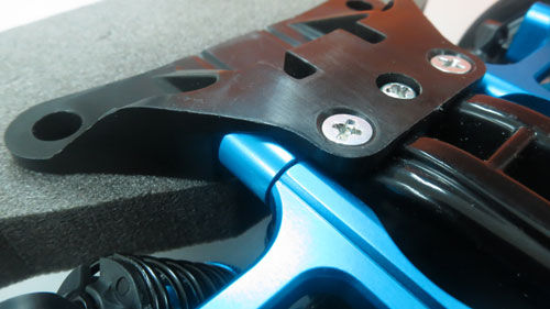 Yeah Racing Aluminum Lower Suspension Mount For Tamiya TT02 #TT02-011