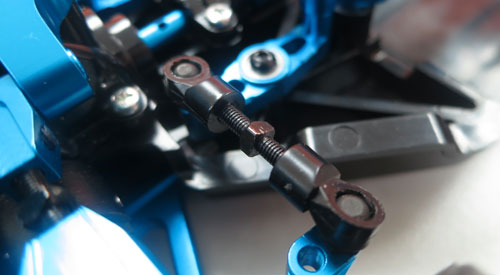 Yeah Racing Adjustable Steering Tie-Rod Set For Tamiya TT02 #TT02-012