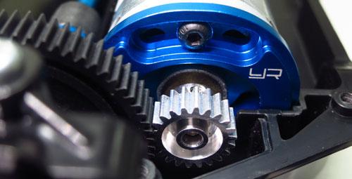 Yeah Racing Aluminum Adjustable Motor Mount For Tamiya TT02 #TT02-013