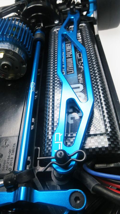 Yeah Racing Aluminum Battery Plate For Tamiya TT02 #TT02-022