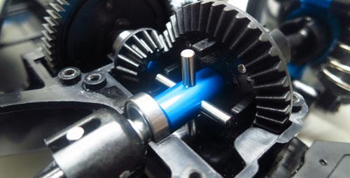 Yeah Racing Aluminum Solid Axle For Tamiya TT02 #TT02-069