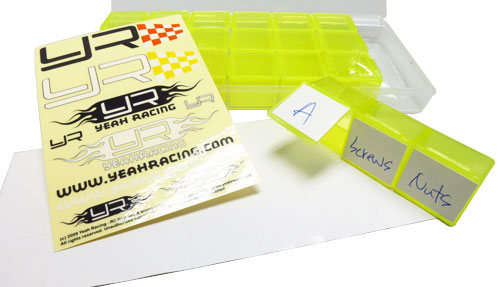 Yeah Racing Multi Funtion Storage Box for RC Accessories L179x W80 x H20mm #YA-0323