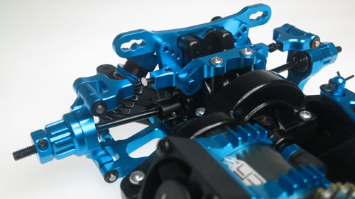 Yeah Racing Aluminum Conversion Kit For Tamiya TT02 #CK-TT02BU