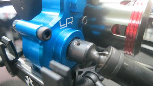 Yeah Racing Aluminum Center Gearbox For Axial SCX10 #SCX10-027