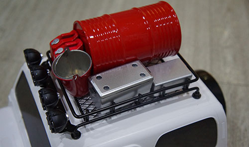 Yeah Racing 1/10 RC Rock Crawler Accessory Tool Box 2pcs #YA-0361