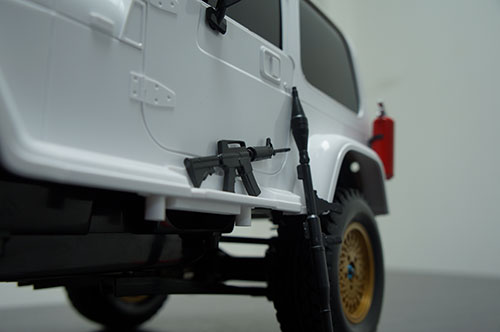 Yeah Racing 1/10 RC Rock Crawler Accessory Rifle Mortar Gun #YA-0362
