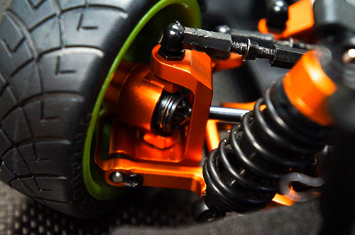 *Yeah Racing Aluminum C-Hub Caster 6 degree For HPI Sprint 2