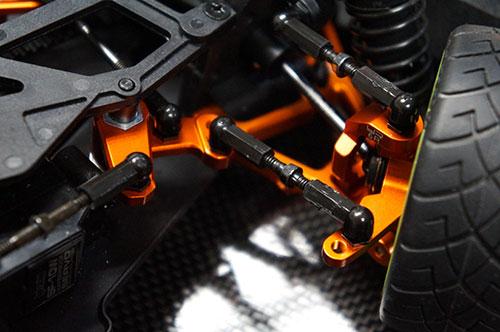*Yeah Racing Aluminum Steering Arm Set For HPI Sprint 2