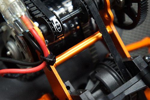 *Yeah Racing Aluminum Motor Mount Post For HPI Sprint 2