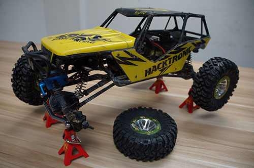 Yeah Racing 1/10 RC Rock Crawler Accessory Height adjustable 6 Ton Jack 2pcs #YA-0374