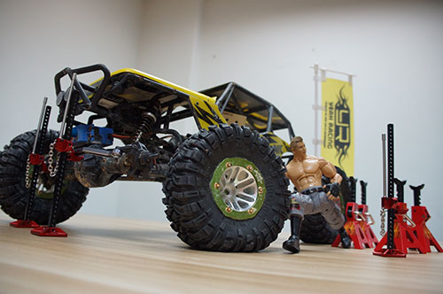 Yeah Racing 1/10 RC Rock Crawler Accessory Full Metal High Lift Jig #YA-0375