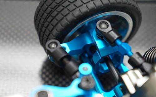 Yeah Racing Aluminum Front Knuckle Arm Set For Tamiya M05 M06 #TAMC-002BU