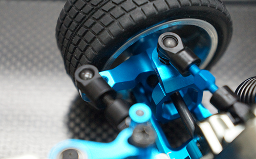 Yeah Racing Ball Bearing Aluminum C-Hub Set For Tamiya M05 M06 #TAMC-003BU