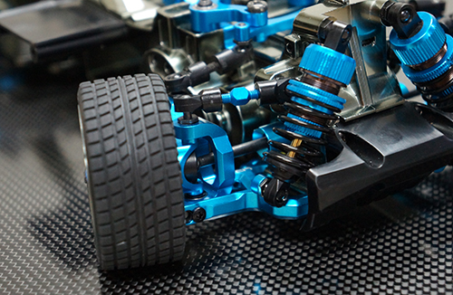 Yeah Racing Aluminum Long-Span Suspension Arms And Knuckles Performance Upgrade Kit for Tamiya M05 M06 #TAMC-S01BU